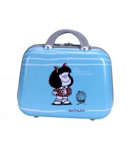 Neceser Rigido Adaptable Mafalda Sky