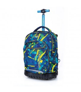 Mochila Trolley Escolar Swift Abstract Yellow Collpack