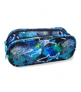 Portatodo Estuche Clever Sharks Collpack