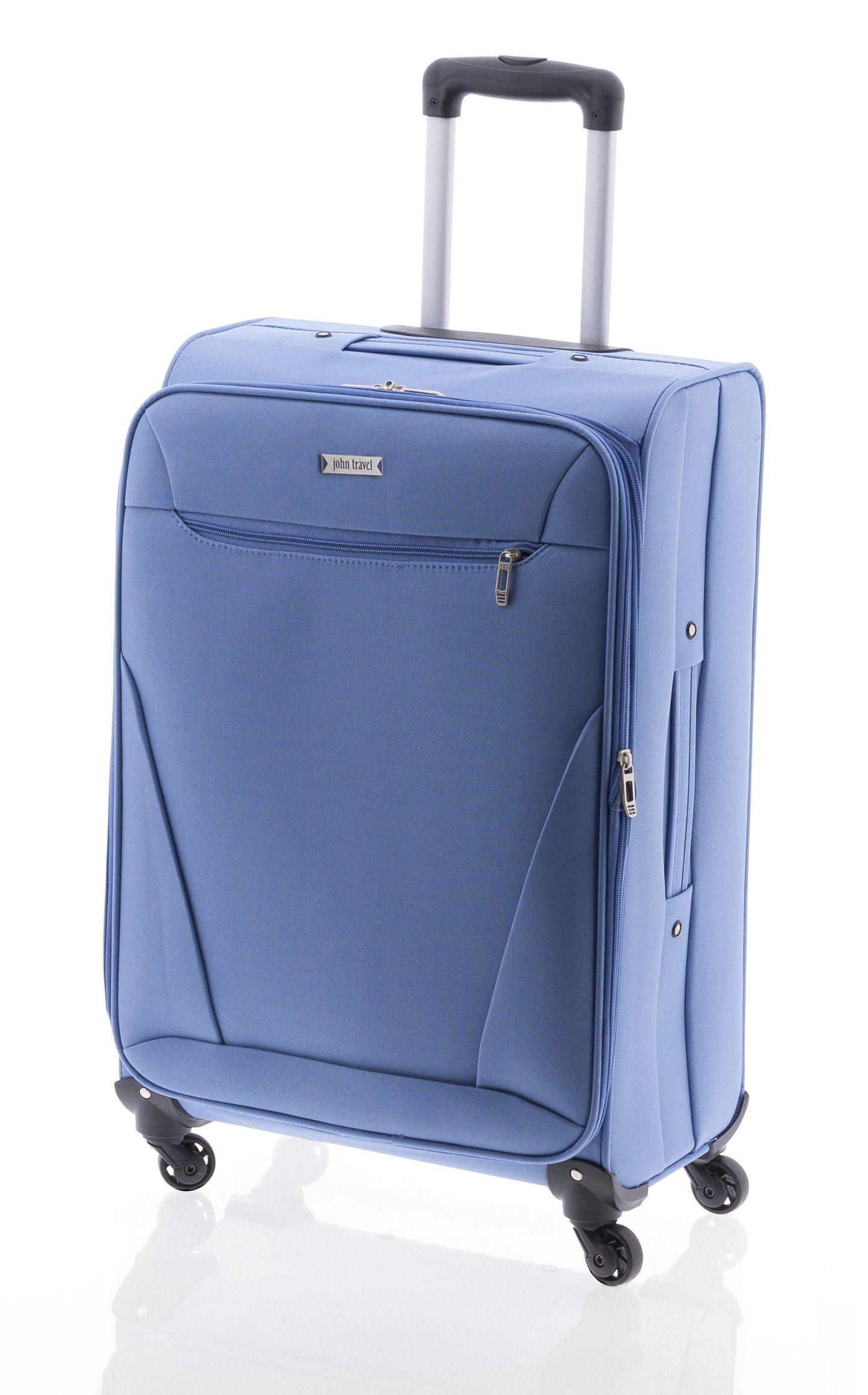 Maleta Mediana John Travel Bersi Azul