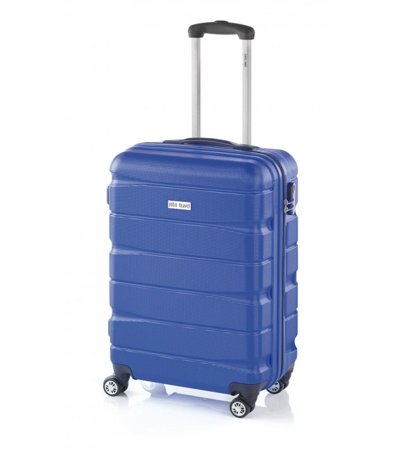 Maleta Cabina John Travel Double2 Azul