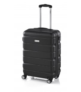 Maleta Cabina John Travel Double2 Negro