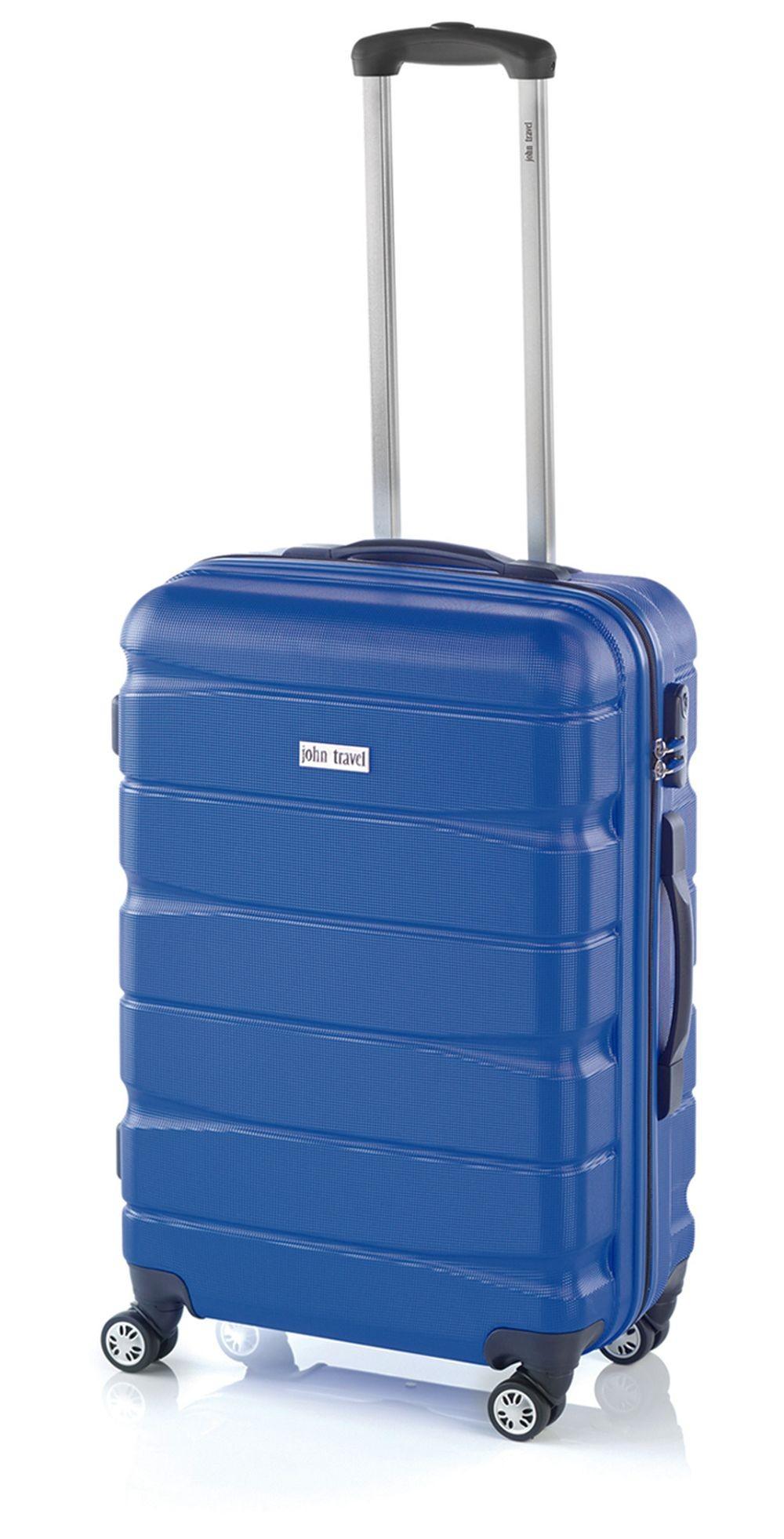 Maleta Mediana John Travel Double2 Azul