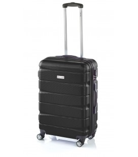 Maleta Mediana John Travel Double2 Negro
