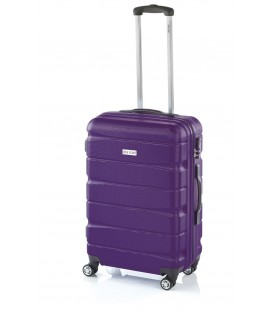 Maleta Mediana John Travel Double2 Lila