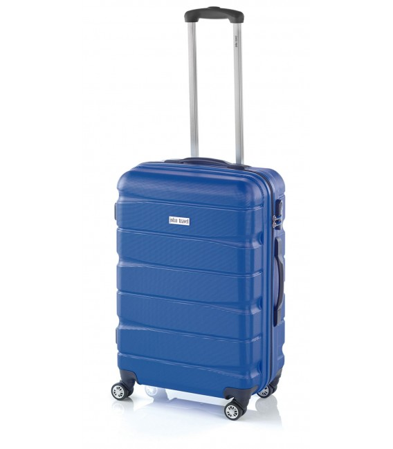Maleta Grande John Travel Double2 Azul