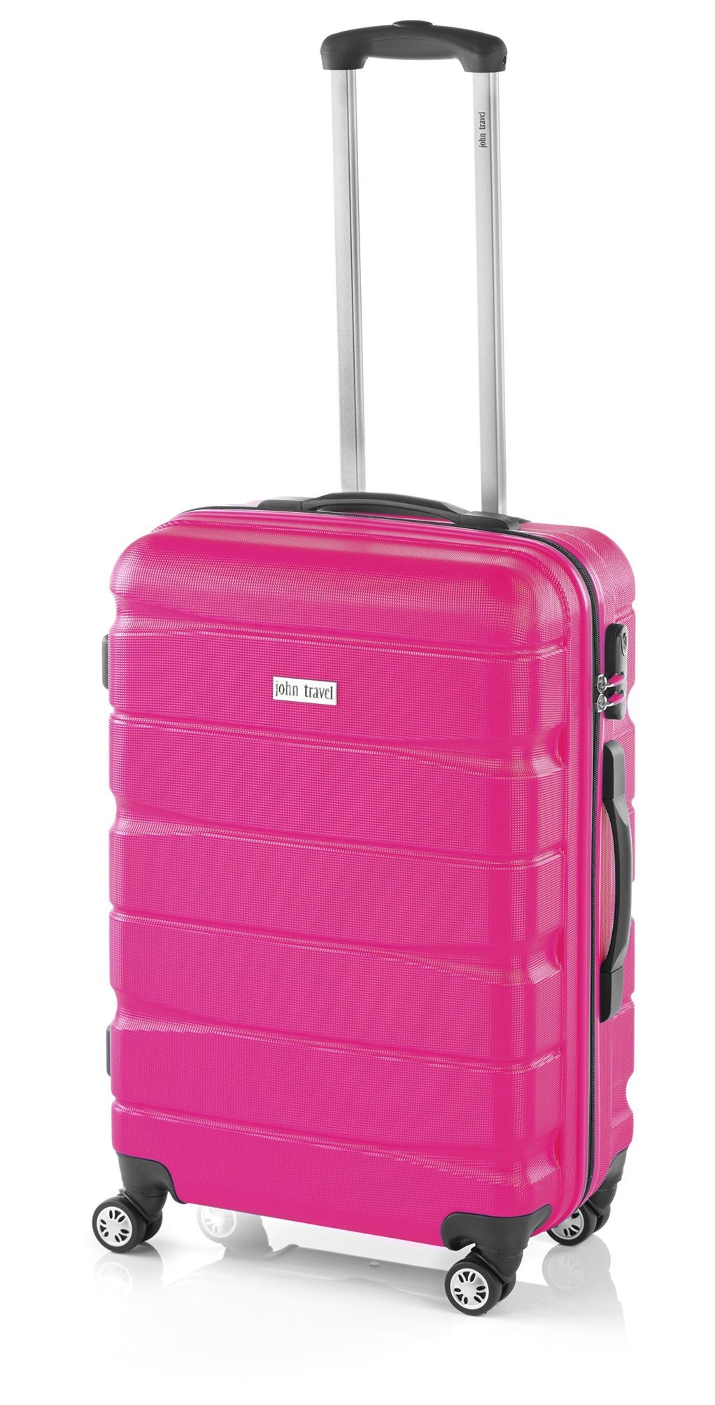 Maleta Grande John Travel Double2 Fucsia