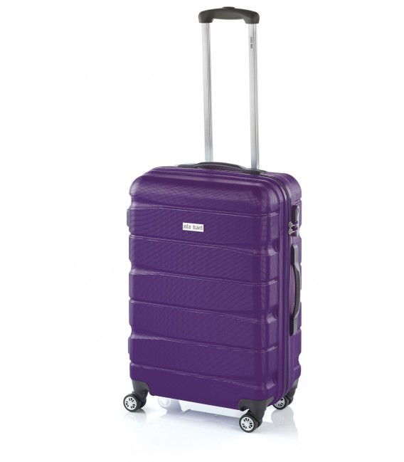 Maleta Grande John Travel Double2 Lila