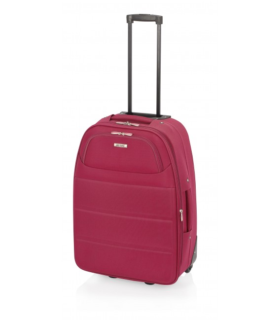 Maleta Cabina John Travel Ticket Rojo
