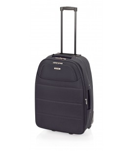Maleta Mediana John Travel Ticket Negro