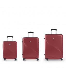 Set 3 Maletas C22-M-L Gabol Sand Rojo