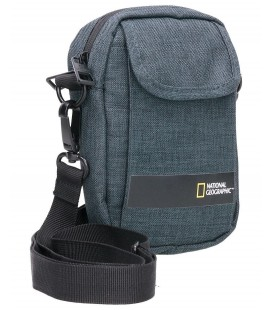 Bolso bandolera National Geographic Stream Antracita
