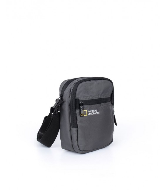 Bolso Bandolera National Geographic Transform Gris