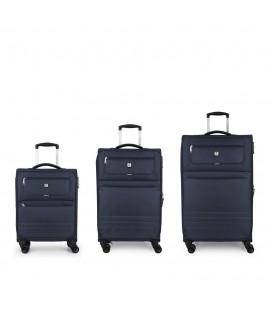 Set 3 Maletas C22-M-L Gabol Aruba Azul