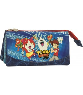 Portatodo Tres Bolsillos Yokai Watch Group