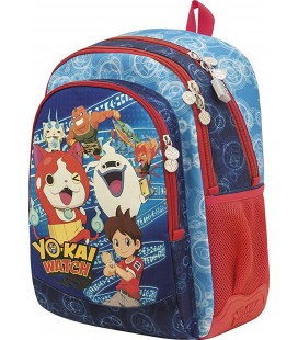 Mochila ST/AC Escolar Yokai Watch Group