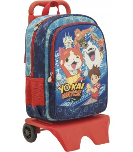 Mochila New EGB C/Carro Escolar Yokai Watch Group