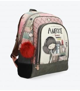 Mochila Escolar Mademoiselle Anekke Beige