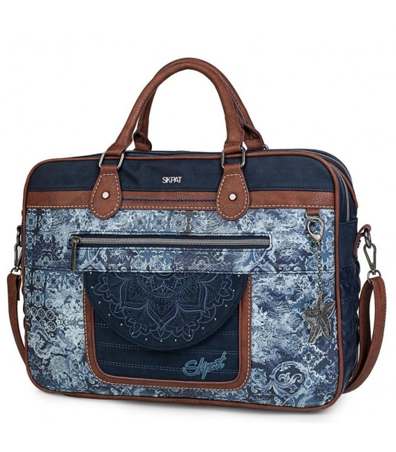 "Cartera Portadocumetos 15""  Admiralty Skpat Azul"