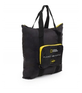 Bolso Plegable National Geographic Foldables Negro