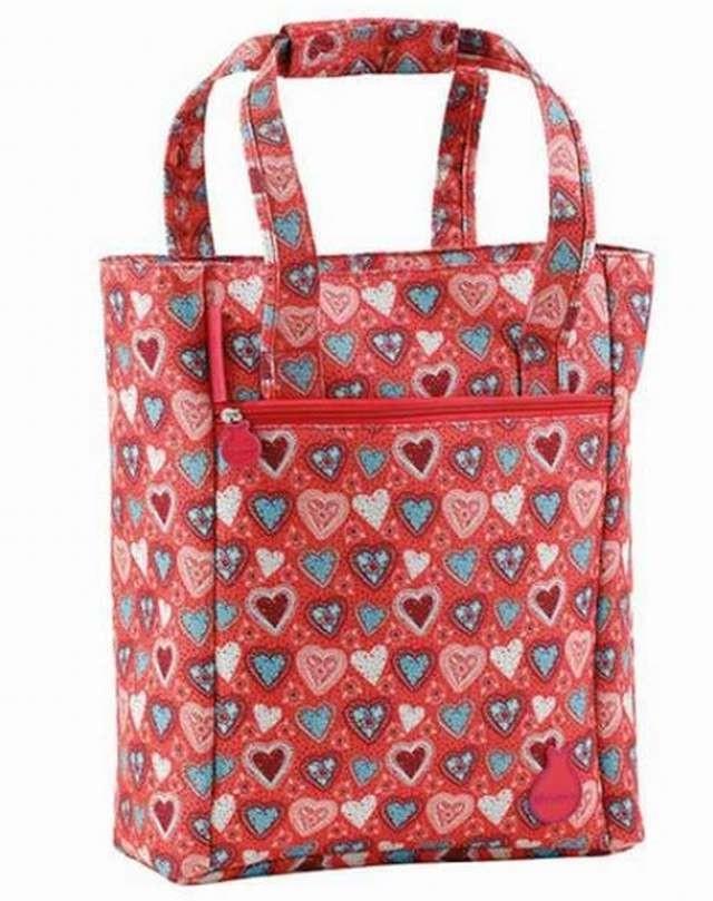 Portaordenador Bolso Shopping Flamenco Triana rosa