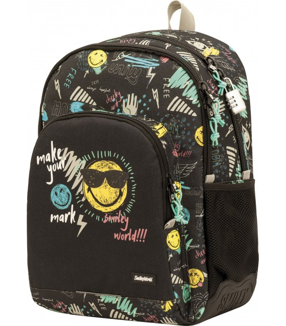 Mochila ST/AC Escolar Smiley Thunder