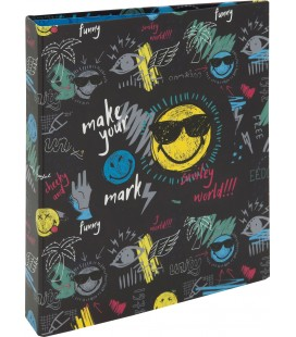 Carpeta 4 Anillas Smiley Thunder
