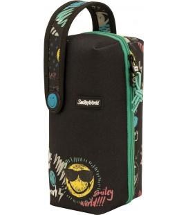 Estuche Multiportatodos Smiley Thunder