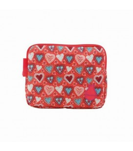 Funda ipad Flamenco Triana rosa