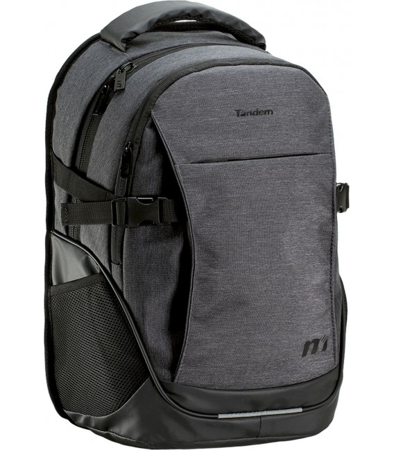 Mochila Doble City Tandem Gris