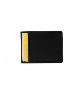 Cartera Billetero National Geographic Wind Negro-Amarillo