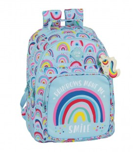 Mochila Escolar Adaptable Glowlab Rainbow
