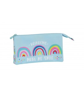 Portatodo Tres Compartimentos Glowlab Rainbow
