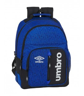 Mochila Escolar Adaptable Umbro Black & Blue
