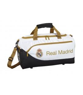 Bolso de Viaje o Deporte Real Madrid Blanco