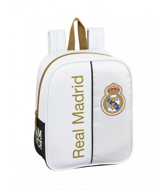 Mochila Guarderia Real Madrid Blanco