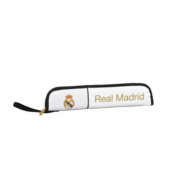 Portaflautas Real Madrid Blanco