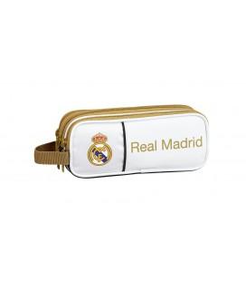 Portatodo Tres Compartimentos Real Madrid Blanco