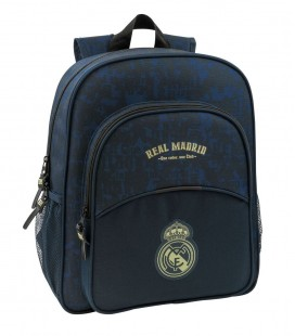 Mochila Escolar Junior Adaptable Real Madrid Azul Marino
