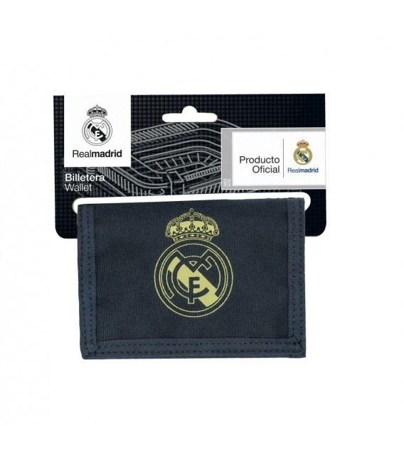 Billetera Real Madrid Azul Marino