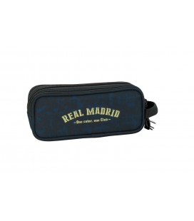Portatodo Tres Compartimentos Real Madrid Azul Marino