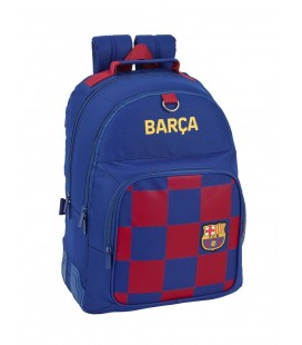 Mochila Escolar Adaptable F.C. Barcelona