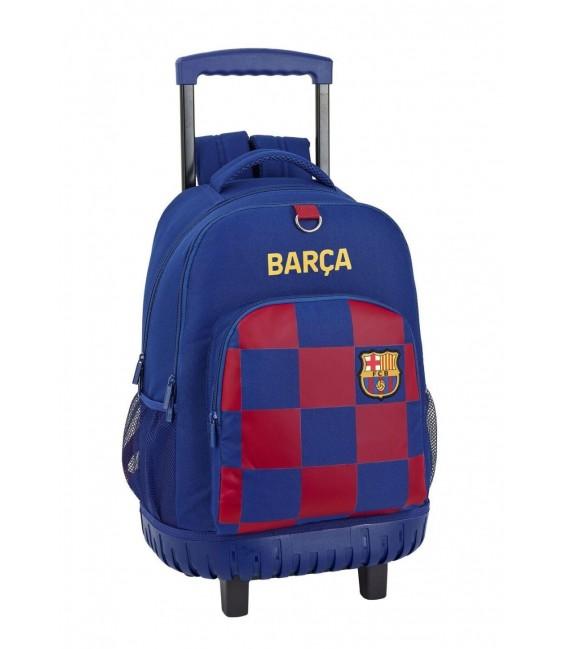 Mochila Carro Fijo Escolar  F.C. Barcelona