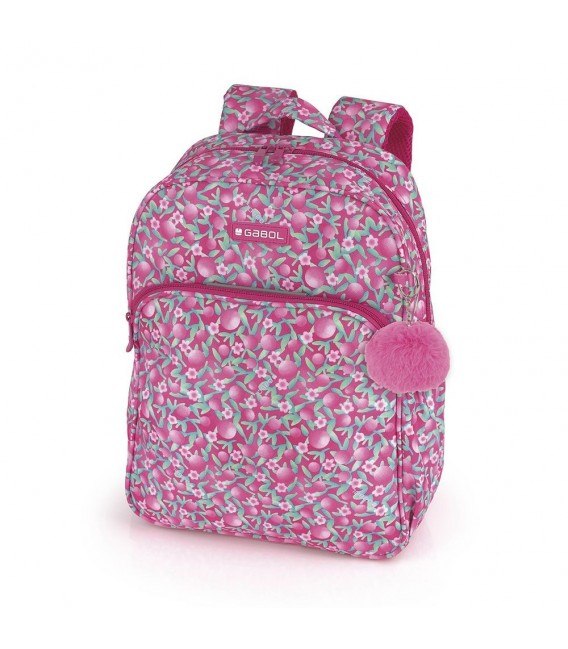Mochila Escolar Adaptable Cherry Gabol