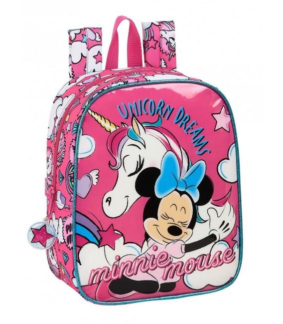 Mochila Guardería Minnie Mouse Unicornio