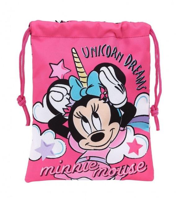Saco Plano Minnie Mouse Unicornio