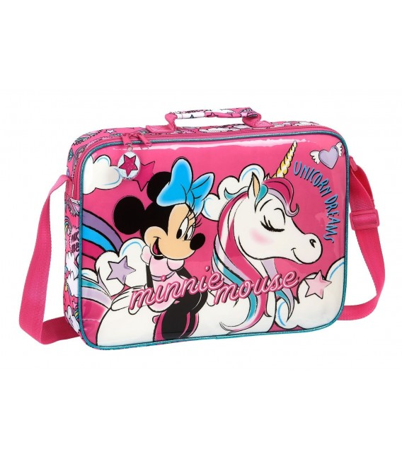 Cartera Extraescolar Minnie Mouse Unicornio