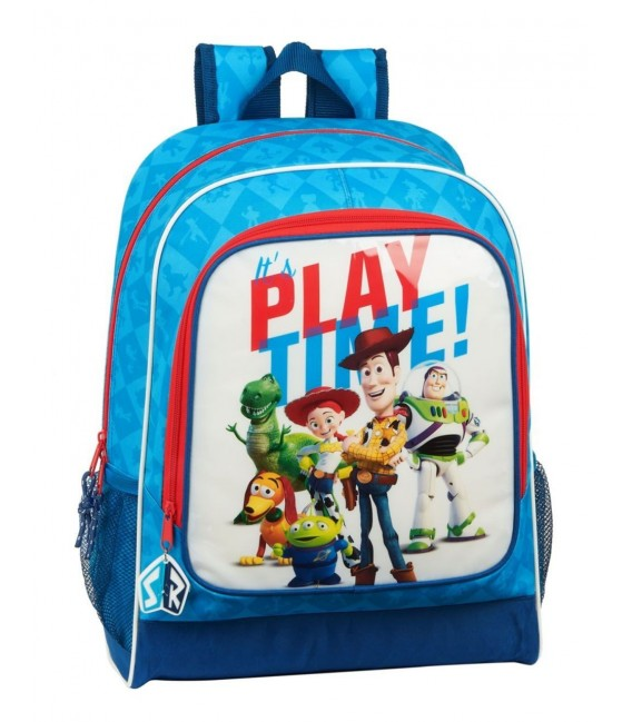 Mochila Escolar Adaptable Toy Story Play Time