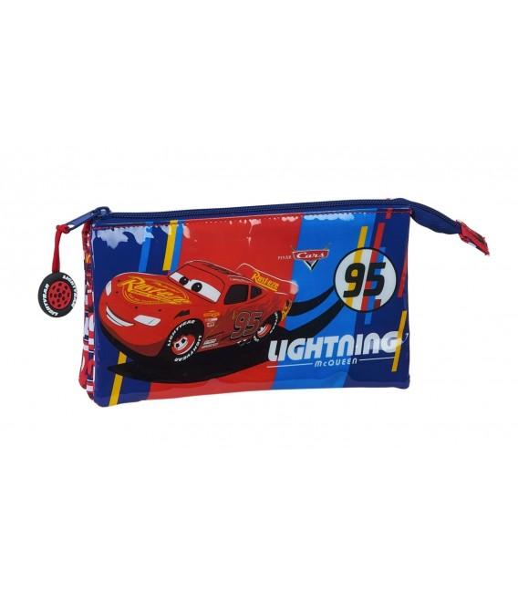 Portatodo Tres Compartimentos Cars Racing Block