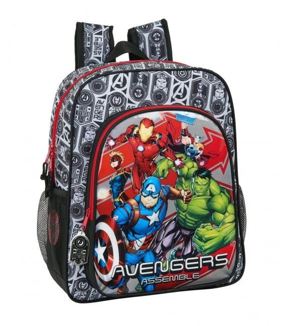 Mochila Escolar Adaptable Avengers Heroes